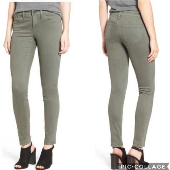 Madewell Denim - EUC Madewell Skinny Skinny Jeans Highland Green